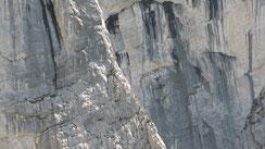 Klettern Roßkuppe Nordwestkante