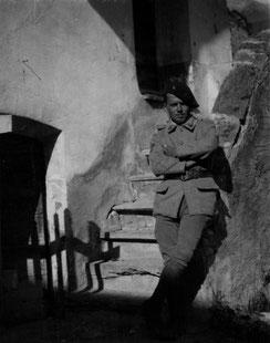 René GENOUX à Valloire en 1933