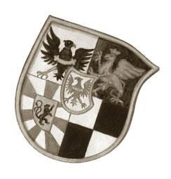 Illustration Wappenschild Markgraf Brandenburg
