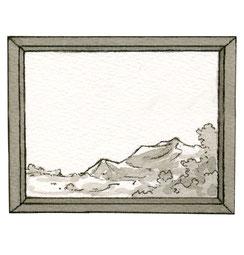 Illustration Gemälde Bild Rahmen