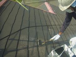 屋根材 コロニアル・カラーベスト・薄型スレートの下地塗装プライマー