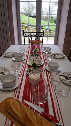 """Petit-déjeuner Chambre d'hôtes """"Côté campagne"""" Château-Thierry"""