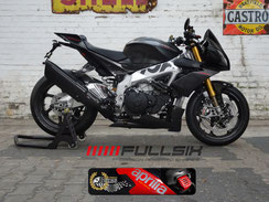 Fullsix Carbon Teile auf Tuono V4 von Performance Bikes
