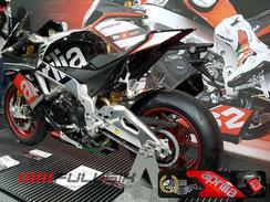 Fullsix Carbon Teile auf Aprilia RSV4 von Performance Bikes