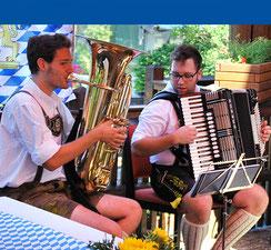 Unterhaltung im Haus am Steinbach