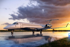 L'Embraer Legacy 650E