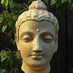 Buddhakopf Gandhara-Stil