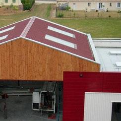couverture des bâtiments en charpente métallique par ACMB 79, 86, 16 et 17