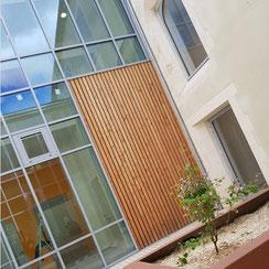 immeuble façade par ACMB construction metallique Brioux