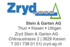 Zryd Stein und Garten AG Thun, Kiesen, Uttigen