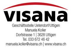 Visana Geschäftsstelle Uetendorf, Uttigen