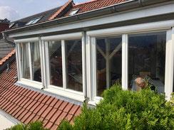 Denkmalschutz-Holzfenster mit Roma Zip-Screens