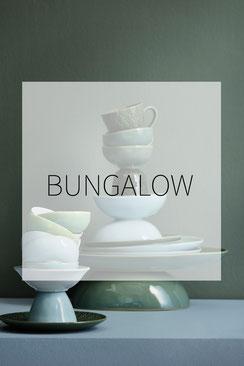 bungalow Boxen, Geschirr, Handtücher, Geschenkpapier