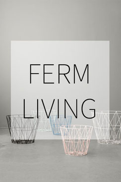 ferm living Dortmund Wire basket Drahtkorb Danish Design Dänemark