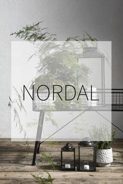 Nordal Dänemark Dekoration Design Dortmund Vase Blumentopf Windlicht Laterne Korbtisch Metall