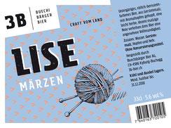 3B Buechibärger Bier - Foto Biersorte Lise - Märzenbier