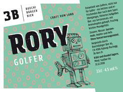 3B Buechibärger Bier - Foto Biersorte Rory - Golferbier