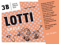 3B Buechibärger Bier - Foto Biersorte Lotti - Amberbier