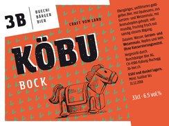 3B Buechibärger Bier - Foto Biersorte Köbu - Bockbier