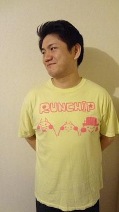 黄色とピンク ¥2000(モデル:たむたむ)
