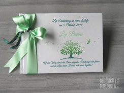 Foto Gästebuch Taufe Mädchen Junge Taufgästebuch personalisiert Baum Taube Sonne Herzen Taufgeschenk Name Taufspruch Taufsymbole