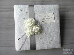 Fotoalbum Silberhochzeit Lingerie Rosen Perlen Fotoalbum Hochzeit Spitze Hochzeitsalbum personalisiert Fotoalbum Hochzeitsfarbe Hochzeitsbuch