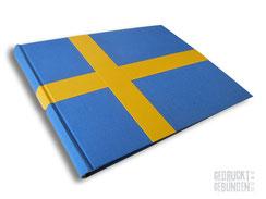 Fotoalbum Schweden Urlaubsalbum Flagge Schweden Reisealbum Urlaubserinnerungen Memories Sverige Skandinavien-Urlaub