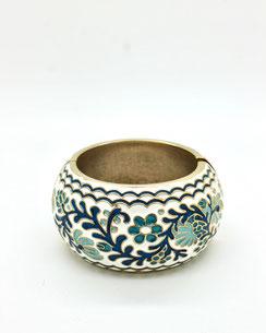 Bracelet floral émail, J DE C Bijoux