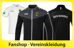 Fanshop und Vereinskleidung Sport Club Sparta Bardenberg