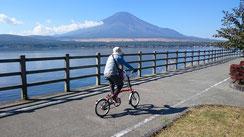 2016.10.20 山中湖湖畔からの富士