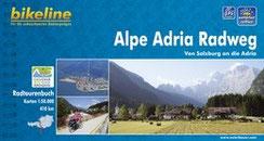Fietsgids Bikeline Alpe Adria Radweg