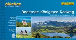 Fietsgids Bikeline Bodensee-Königssee-Radweg