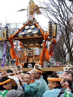 建国祭, 2020年2月11日, 奉祝パレード, 神輿パレード, 表参道原宿