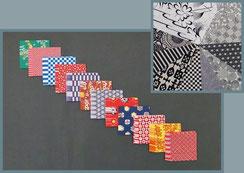 Origami Papier Set - Japanische Motive