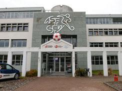 Gebäudewerbung Schweizerischer Fussballverband Bern