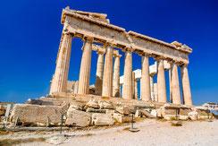 Partenón; Atenas; Grecia; arquitectura; templo dórico; Pericles; Fidias;