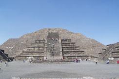 Pirámide de la luna; Teotihuacán; México;