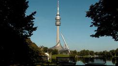 Olympiapark Olympiaturm in München