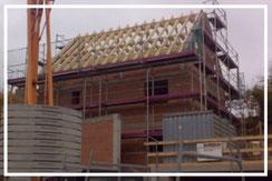 Rund um`s Dach: Dachstühle, Sichtdachstühle, Gauben Dachfenster u.v.m.