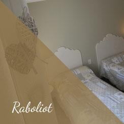 Le Champ du Pré - Chambre d'hôtes Sologne Val de Loire - Notre chambre Raboliot aux lits jumeaux
