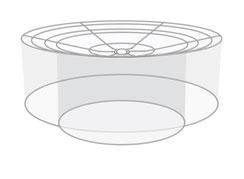 Designer Lampenschirm Saturn