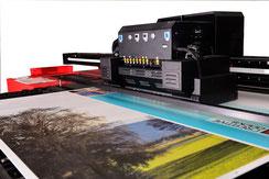 Druck mit UV-Tinte