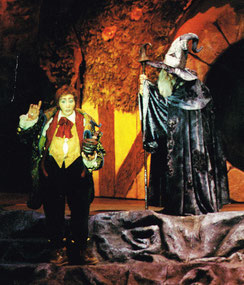 "Bruno als Bilbo Beutlin, Lied ""Abenteuer"", Berlin"