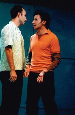 """Bruno als Chuck in """"Avenue X"""", Wiener Kammeroper"""