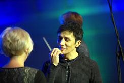 Bruno und Isabel Dörfler bei den Proben
