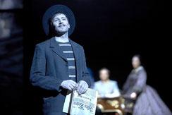 Bruno als Luigi Lucheni im Theater des Westens, Berlin