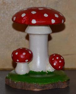 Pilze 15 x 12 cm
