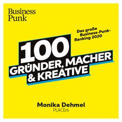 Politik zum Anfassen Business Punk PLACEm 100 Gründern, Machern und Kreativen