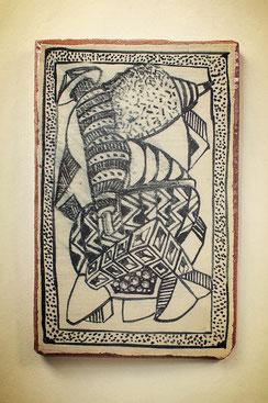 Keramik Fliese Andre Bauersfeld