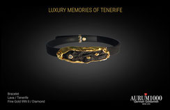 Krahn Design by Aurum1000 - Bracelet - Fine gold jewelry 999.9 - Diamond